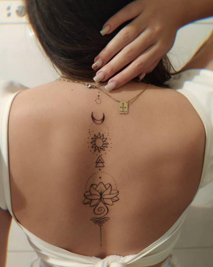 tatuagem de sol e lua 21