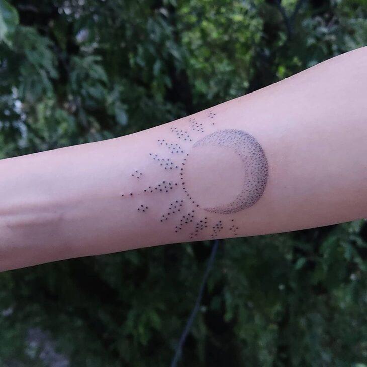 tatuagem de sol e lua 36