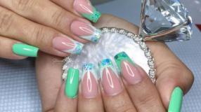 60 fotos de unhas decoradas verdes e tutoriais para um estilo poderoso