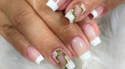 110 ideias de unhas francesinhas decoradas para inspirar sua nail art