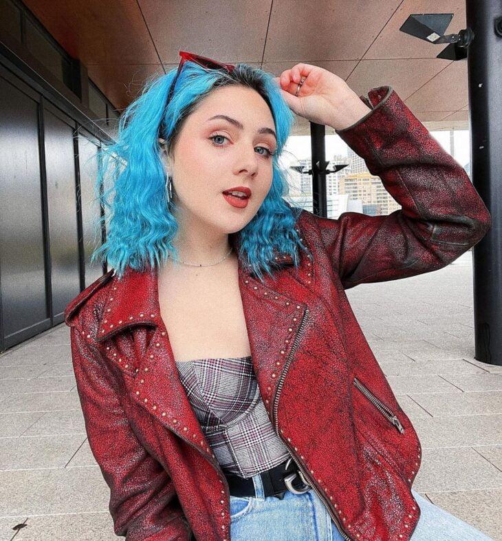 cabelo azul turquesa 24