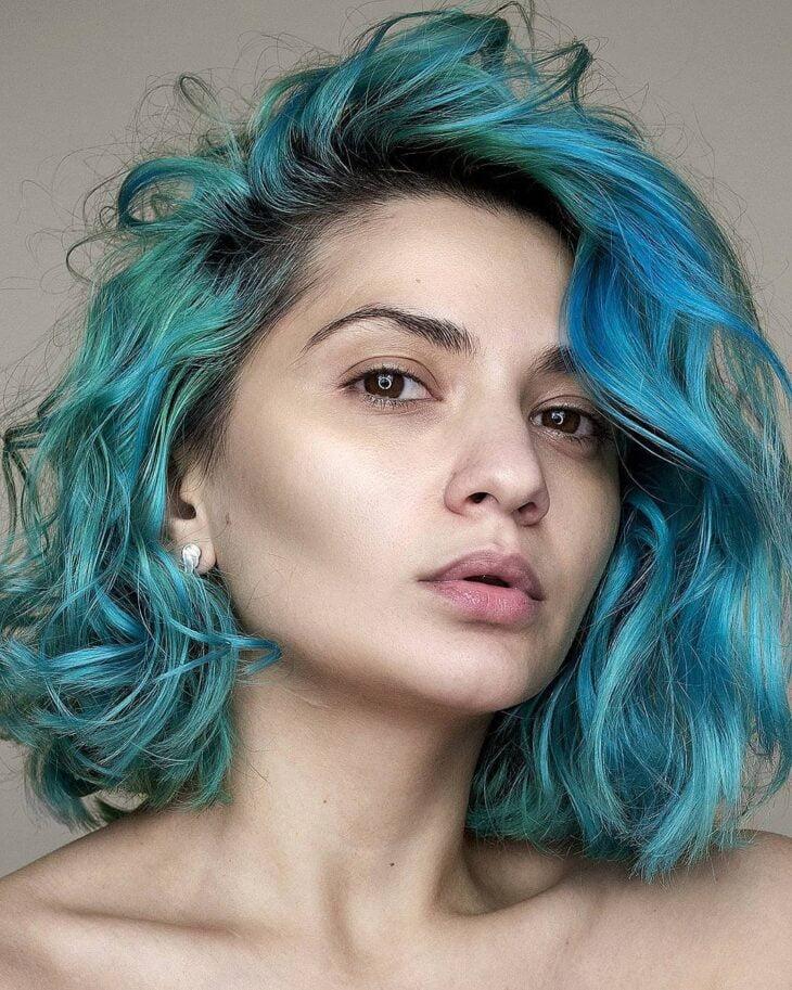 cabelo azul turquesa 7