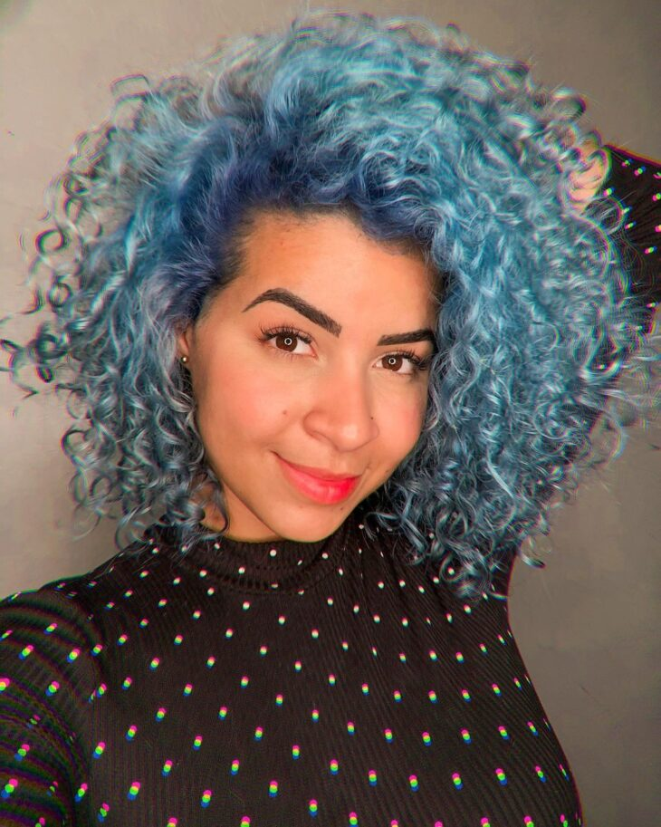 cabelo azul turquesa 9