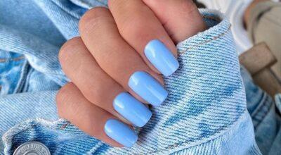 40 fotos de unhas com esmalte azul para apostar nessa cor incrível