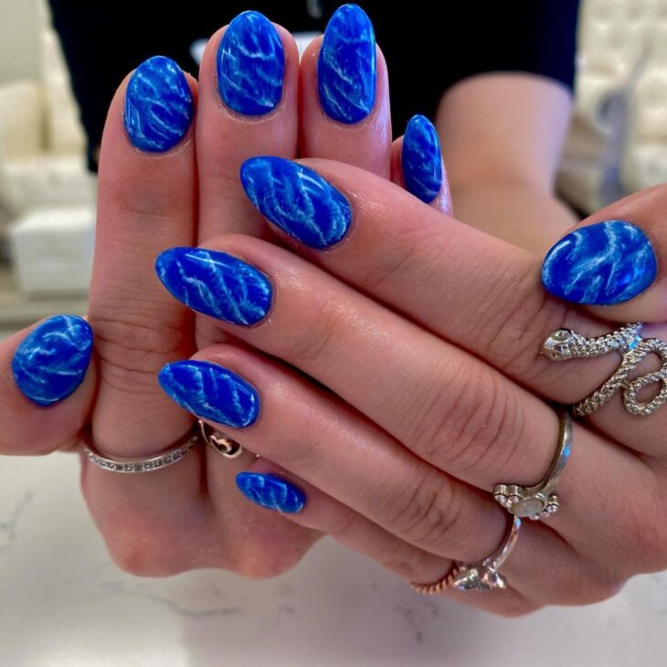 esmalte azul 27