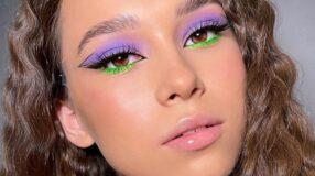 40 fotos de maquiagem neon que provam o sucesso da tendência