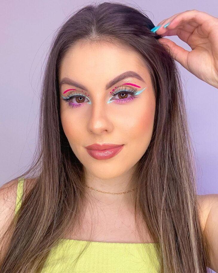 maquiagem neon 13