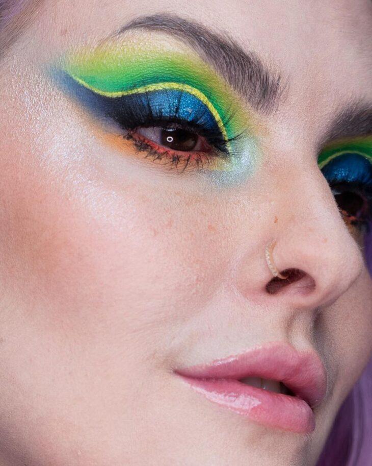 maquiagem neon 15
