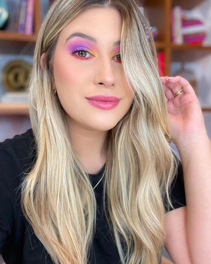 maquiagem neon 16