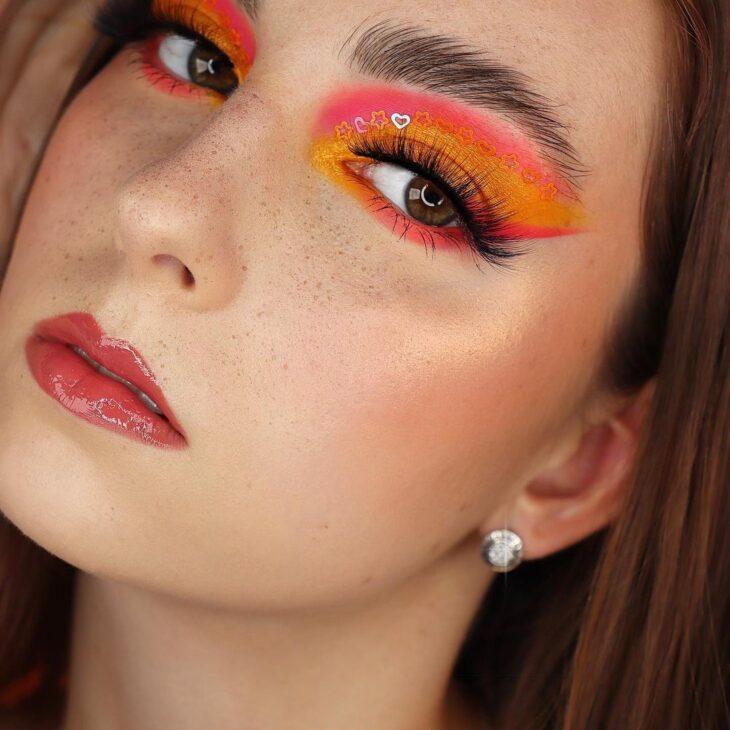 maquiagem neon 19