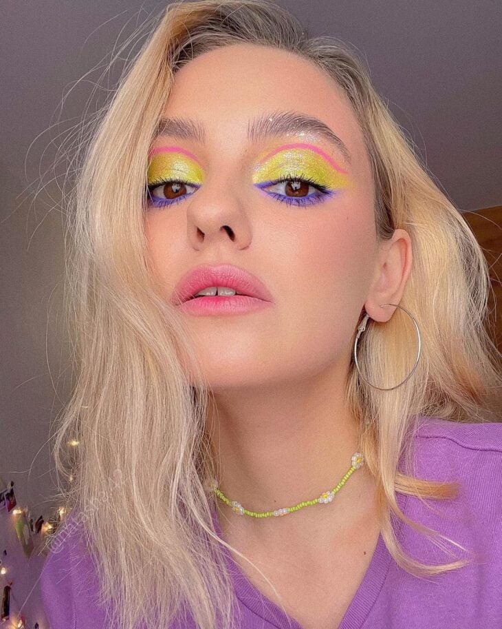 maquiagem neon 23