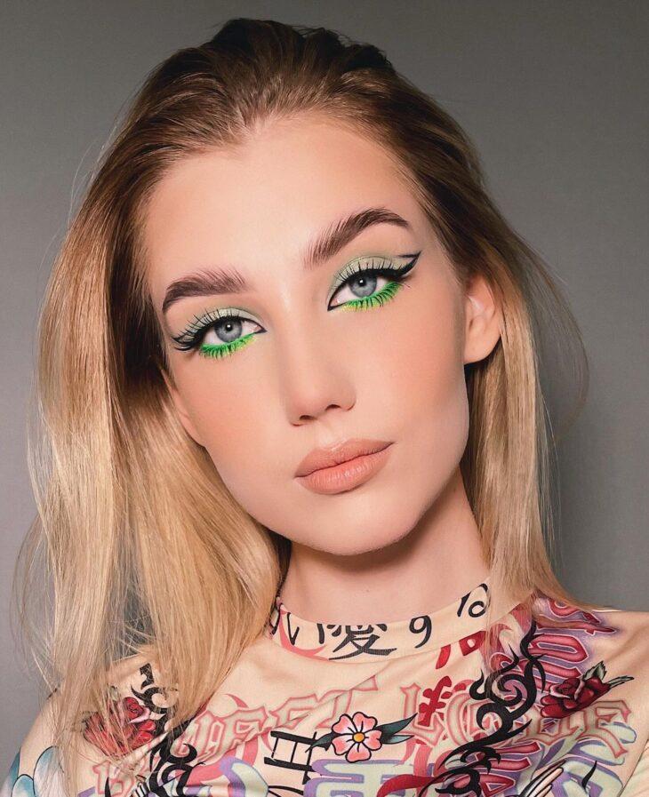 maquiagem neon 24
