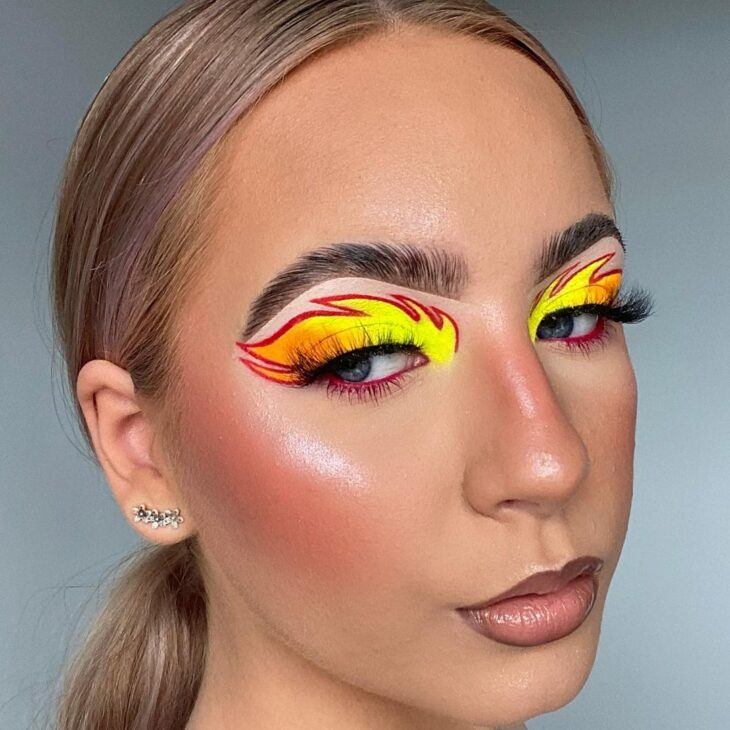 maquiagem neon 29
