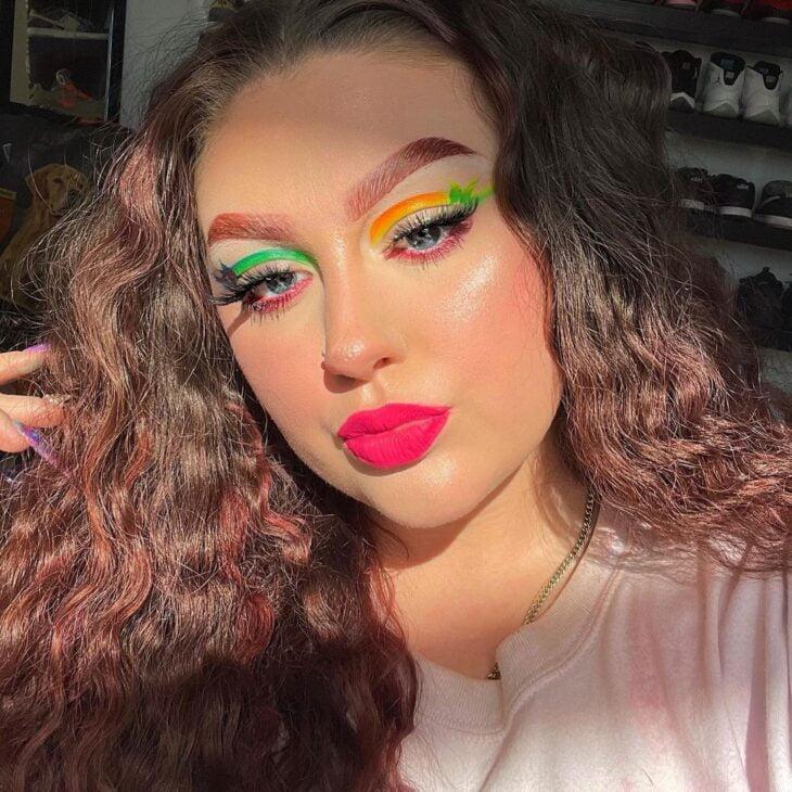 maquiagem neon 30