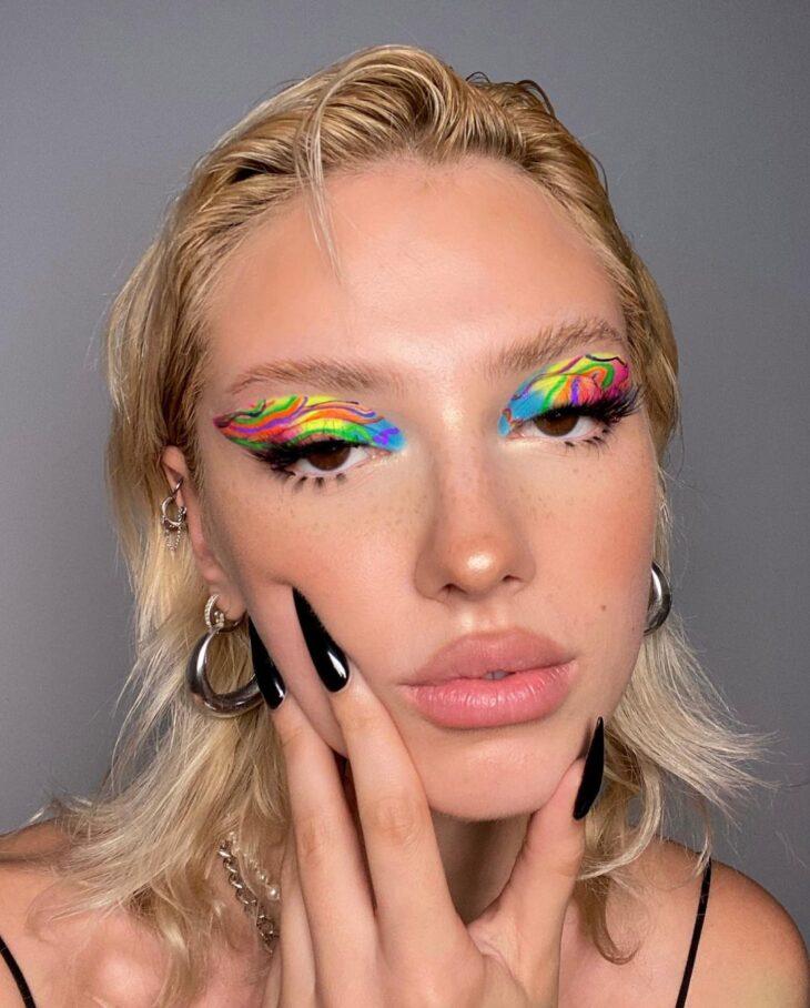 maquiagem neon 31