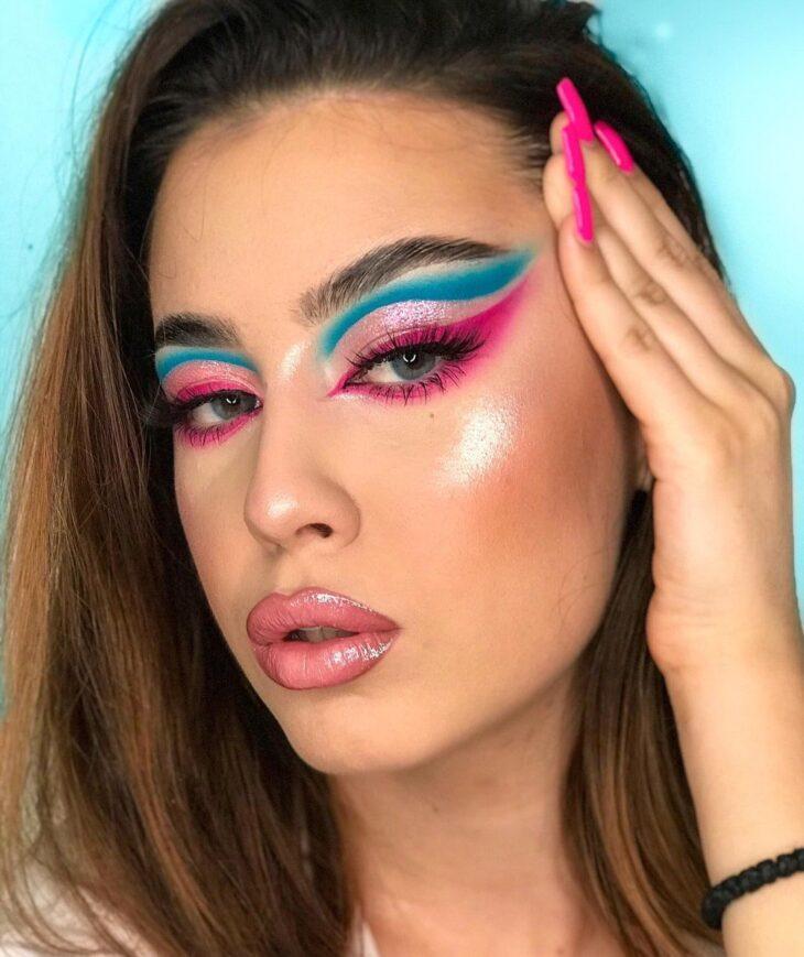 maquiagem neon 32