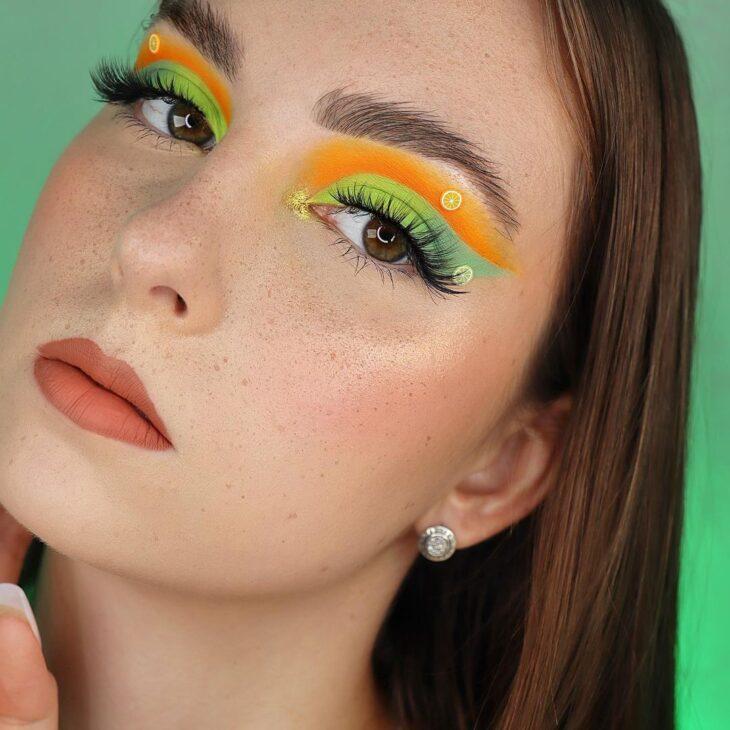 maquiagem neon 6