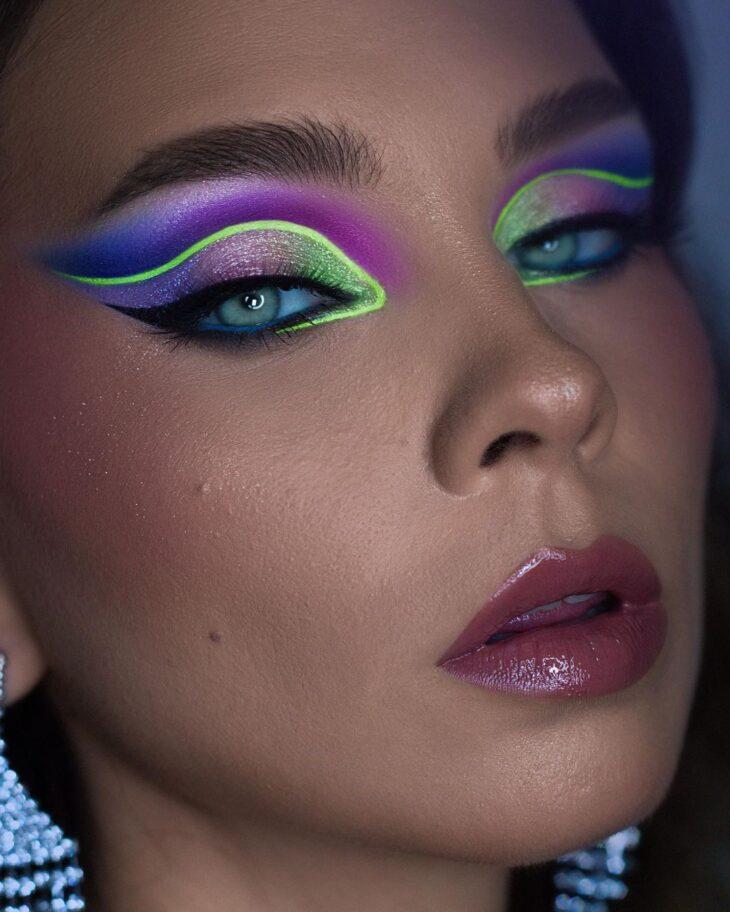 maquiagem neon 37