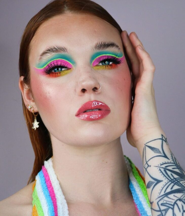 maquiagem neon 8