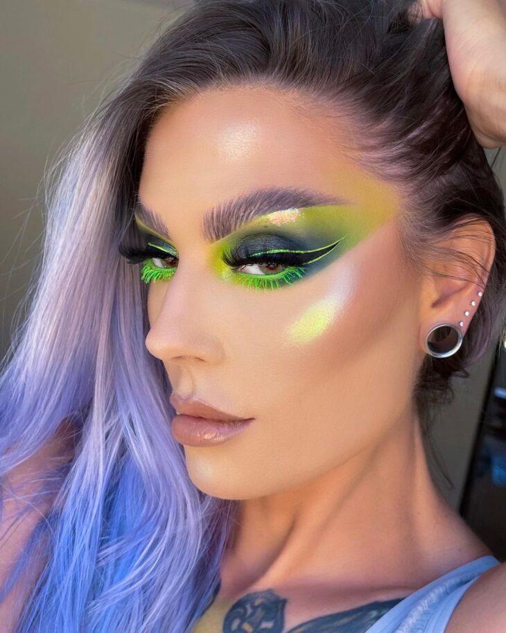 maquiagem neon 10