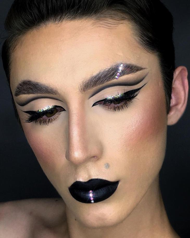 maquiagem preta 21