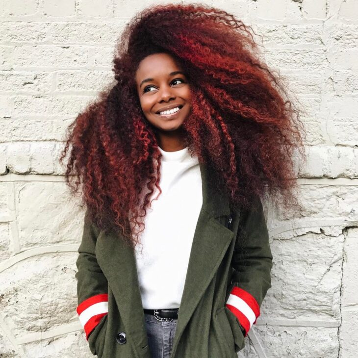 ombré hair vermelho 5