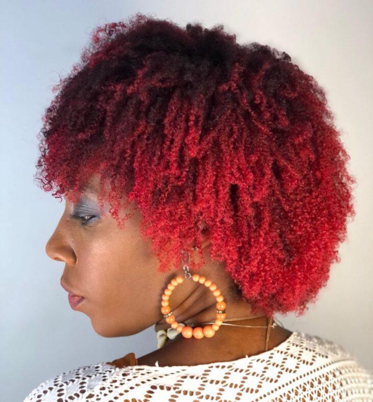 ombré hair vermelho 26