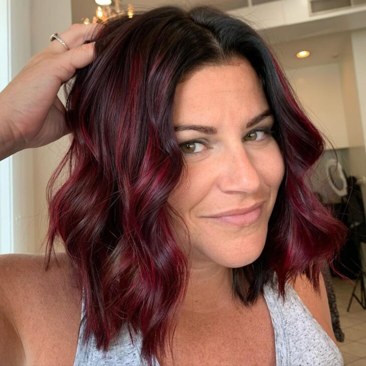 ombré hair vermelho 29