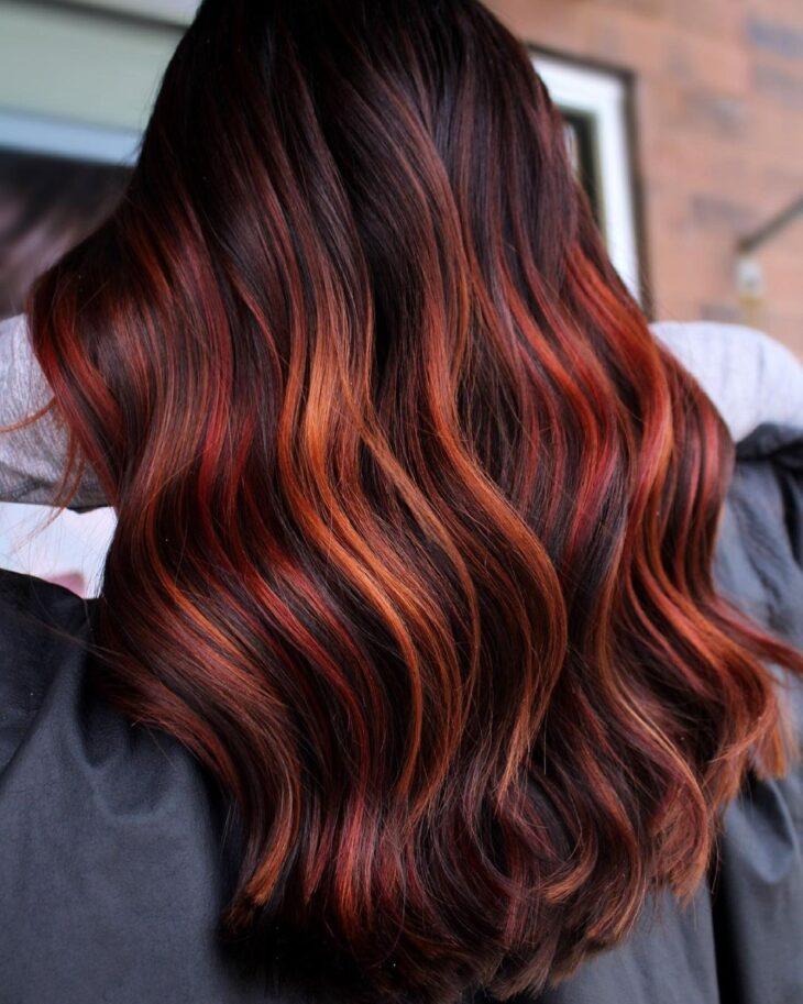 ombré hair vermelho 32