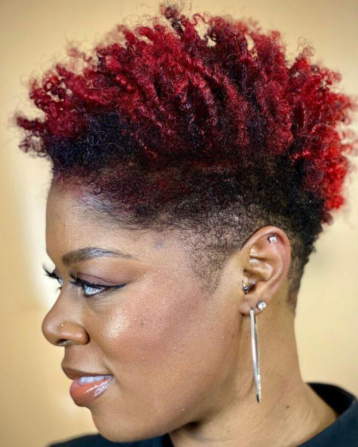 ombré hair vermelho 43
