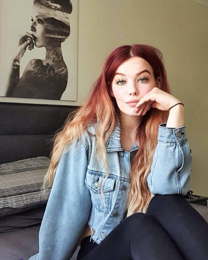 ombré hair vermelho 45
