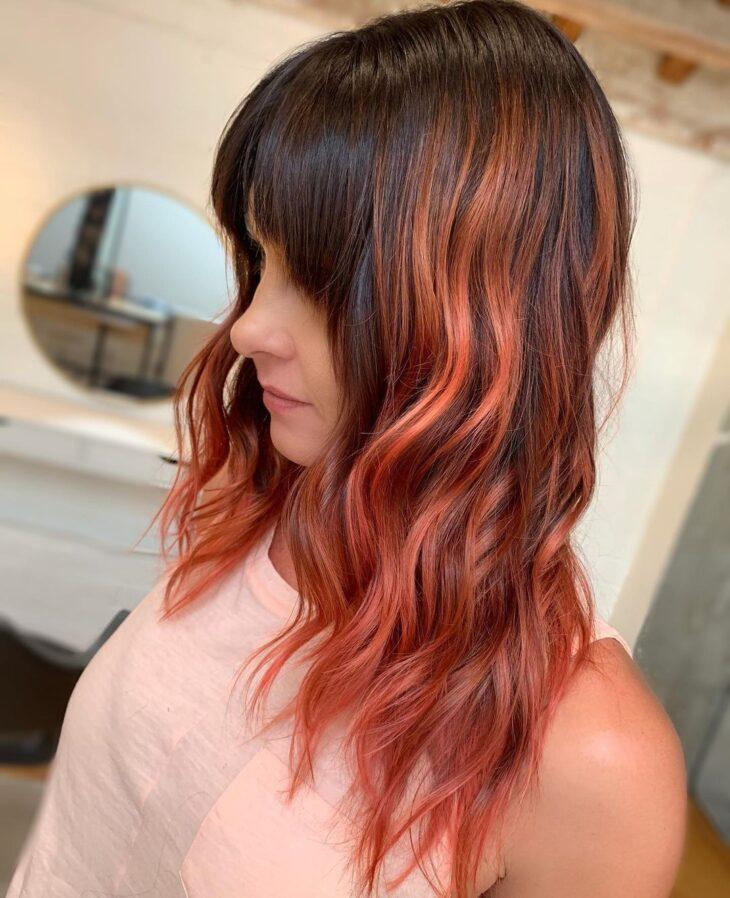 ombré hair vermelho 46