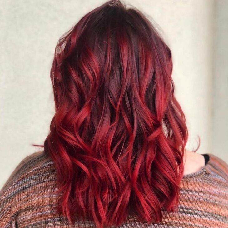 ombré hair vermelho 49