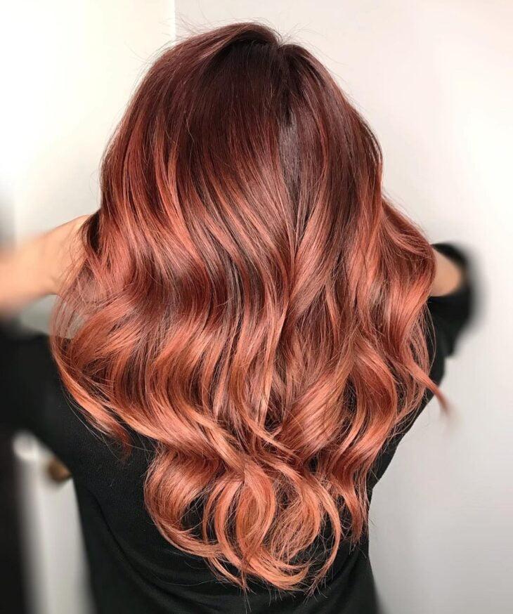 ombré hair vermelho 51