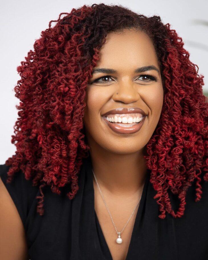 ombré hair vermelho 61