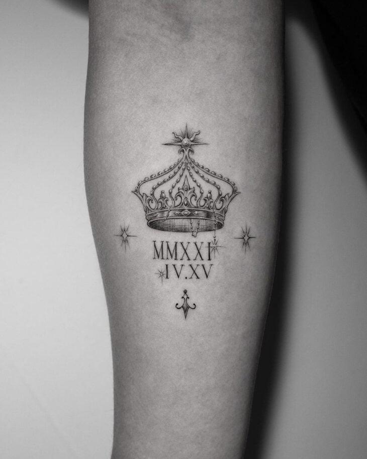 tatuagem de coroa 11