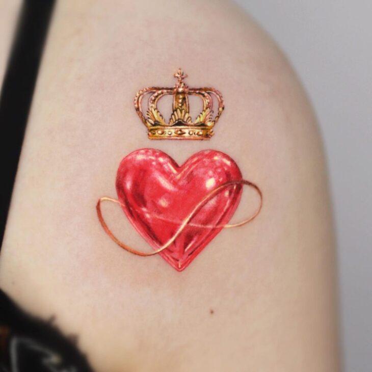 tatuagem de coroa 21