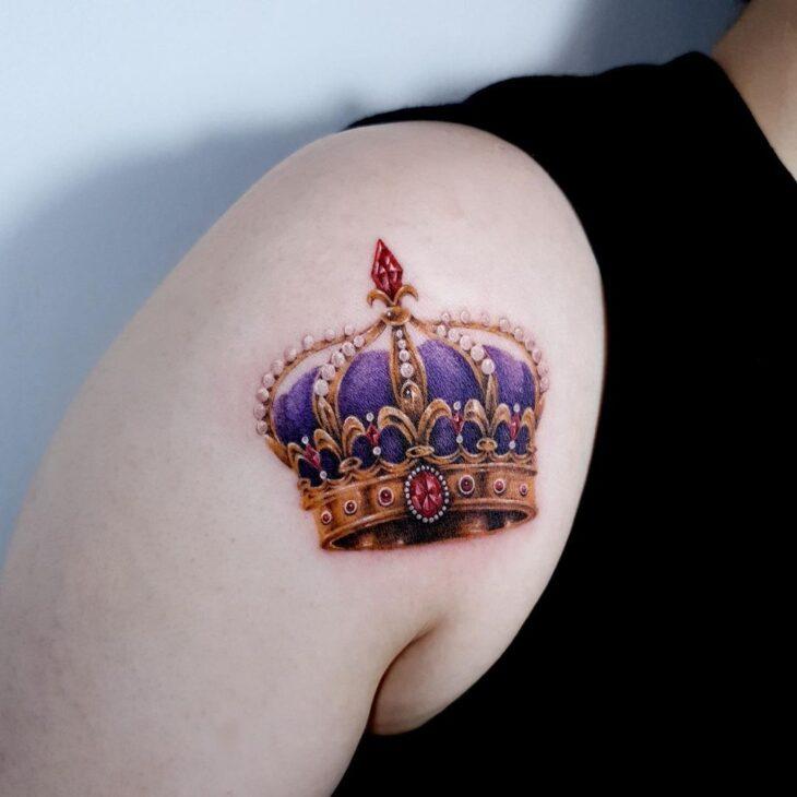 tatuagem de coroa 33