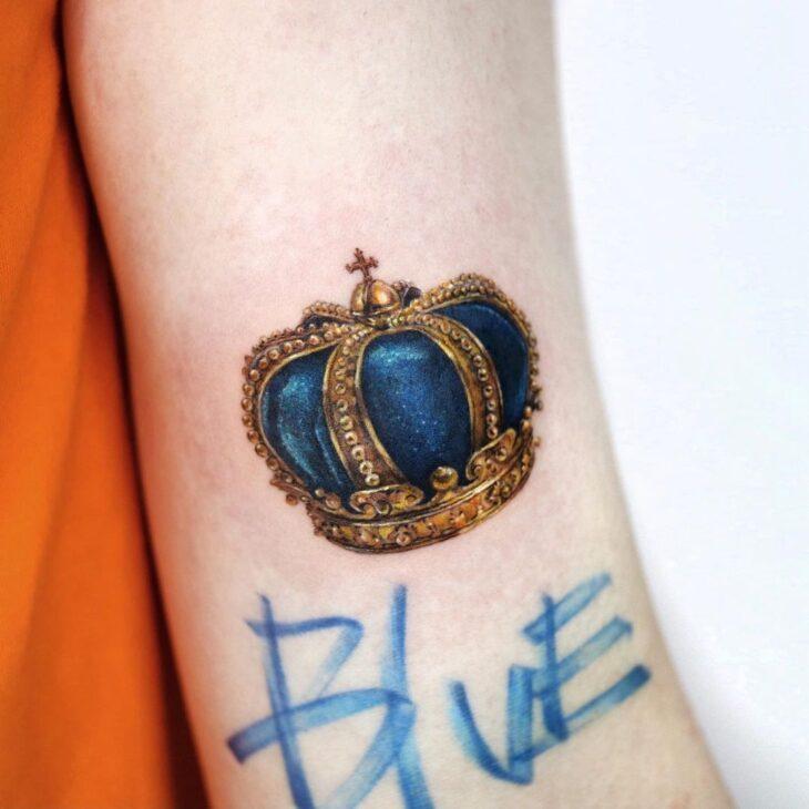 tatuagem de coroa 44
