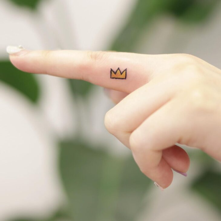 tatuagem de coroa 45