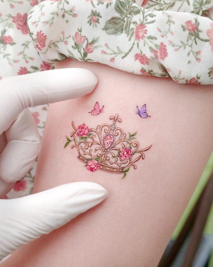 tatuagem de coroa 5