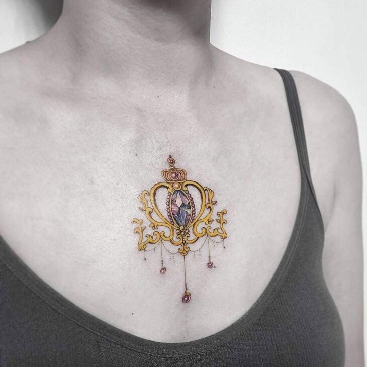 tatuagem de coroa 70