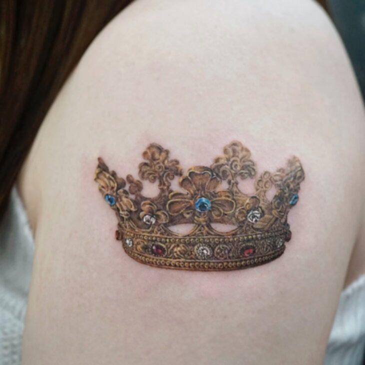 tatuagem de coroa 75