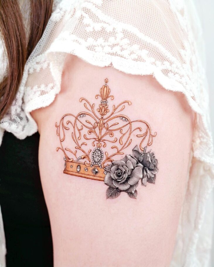 tatuagem de coroa 8