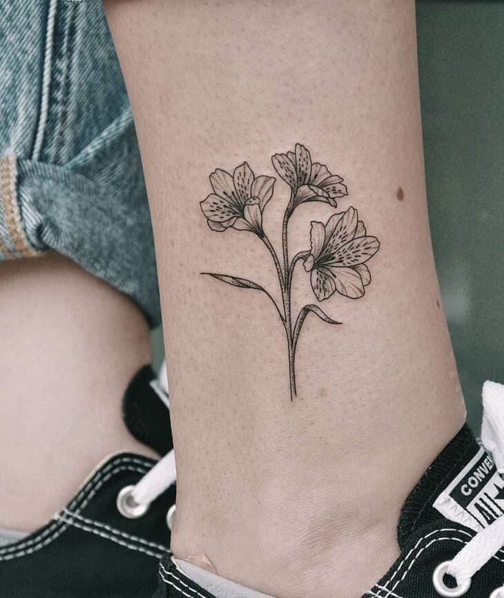 tatuagem na perna 1