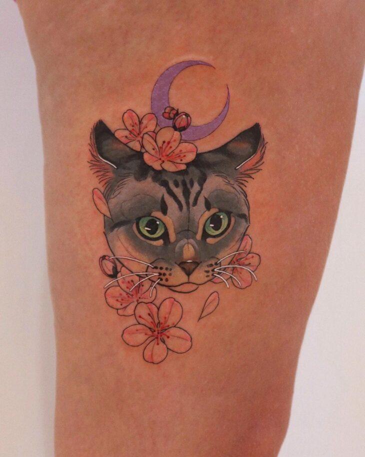 tatuagem na perna 12