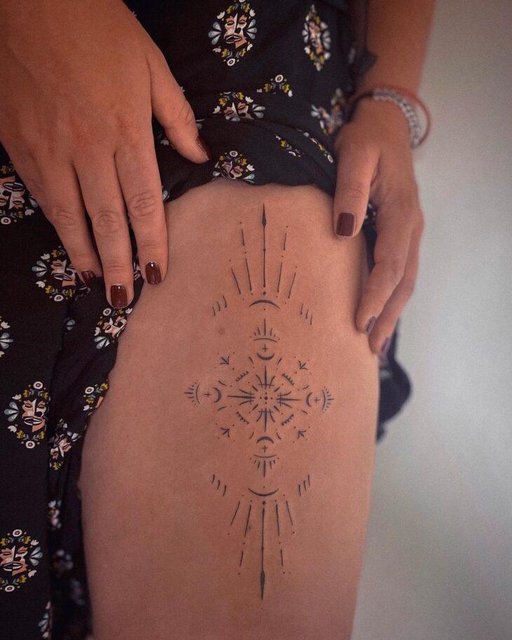 tatuagem na perna 13