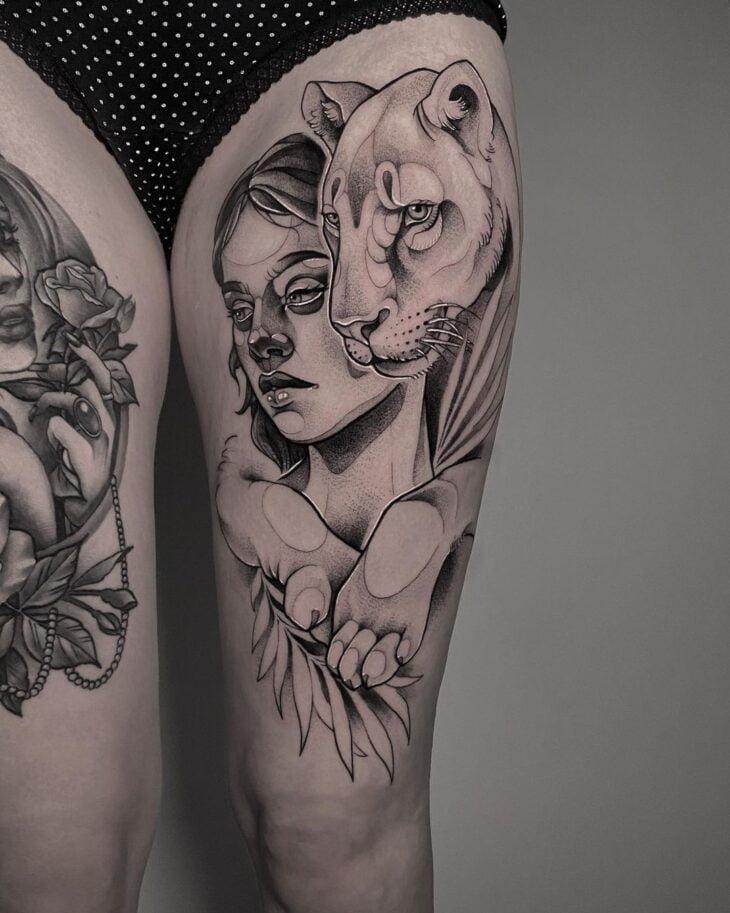 tatuagem na perna 15