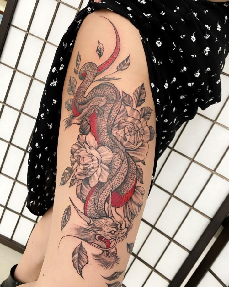 tatuagem na perna 16