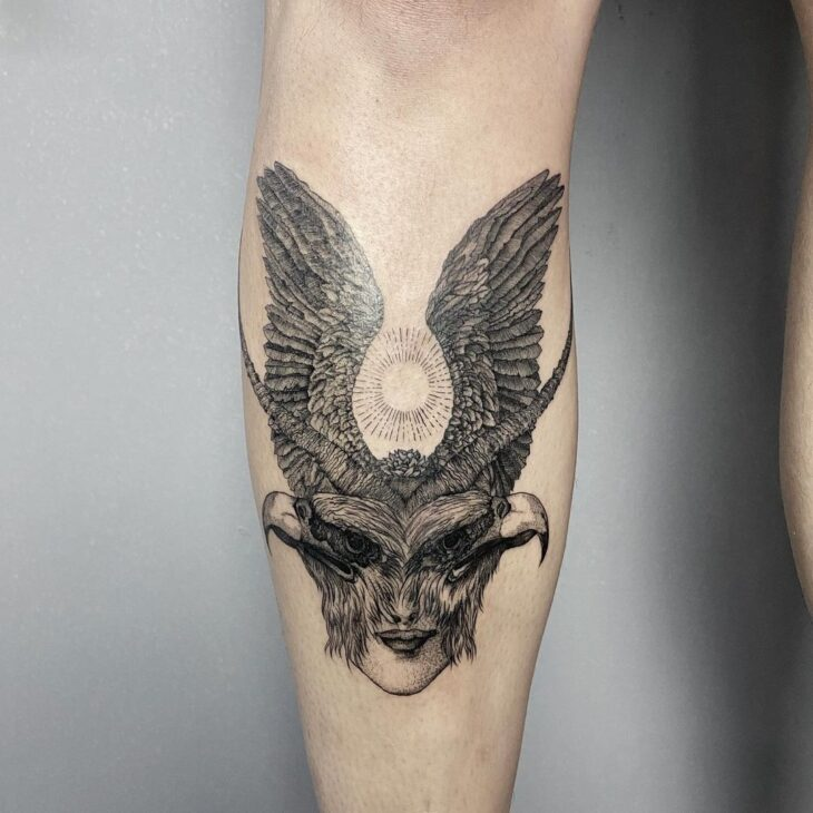 tatuagem na perna 17